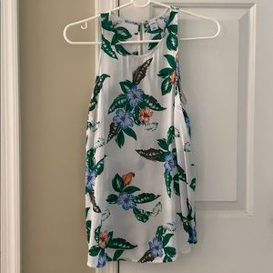 Old Navy tropical tank/blouse size S